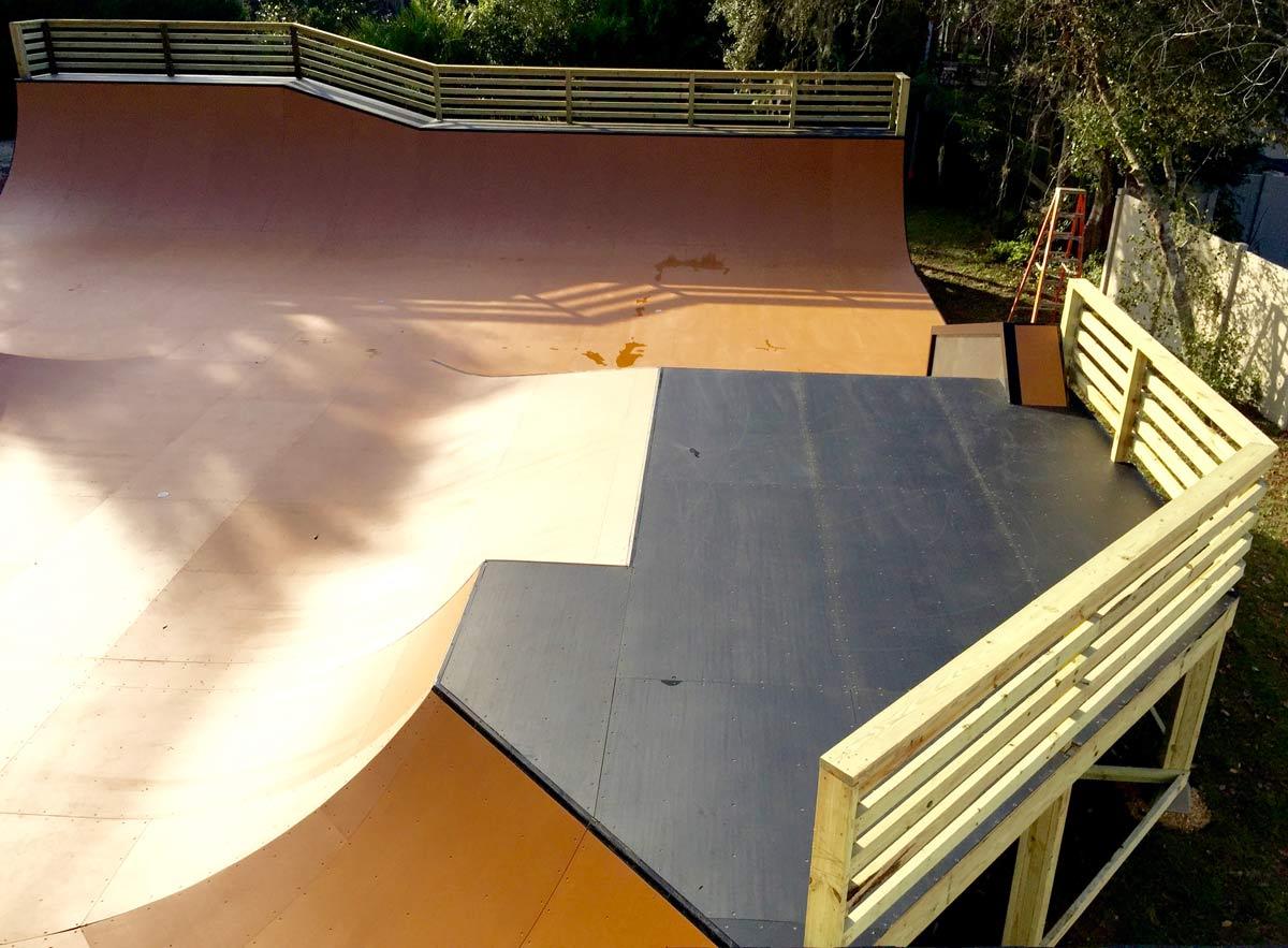 Skatepark design construction ramped construction for Design construction